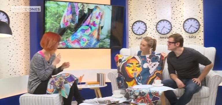 Interview for Košice: Dnes - ARTbubbleSilk silk scarves